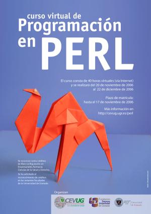 cartel anunciador del curso